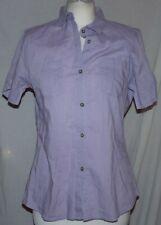 Mountain Warehouse short sleeve breathable blouse hiking Cotton Size 12
