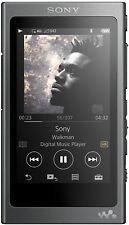 NEUF SONY NW-A35 16 Go Haute Résolution Bluetooth Walkman MP3 Media Player Noir