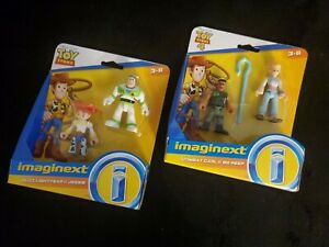 Fisher Price Toy Story 4 imaginext toys, Buzz lightyear,Lightyear, Jessie,& more