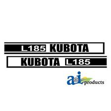 Tractor Decal set to fit Kubota L185