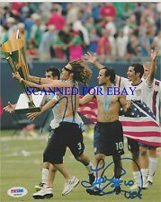 LANDON DONOVAN AND FRANKIE HEJDUK SIGNED 8x10 RP PHOTO MENS USA SOCCER TEAM