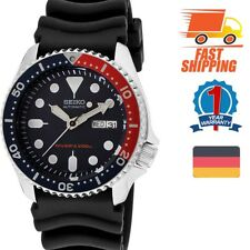 Seiko Analog Sportart Automatic Diver's Schwarz Herren SKX009K1