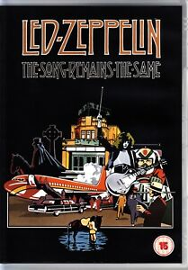 LED ZEPPELIN - THE SONG REMAINS THE SAME (1976) DVD - 2012  REGION 4