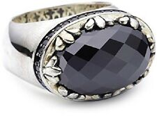 40% SALE! Genuine Thomas Sabo- Sterling Silver, Gents ring Black CZ RRP $359