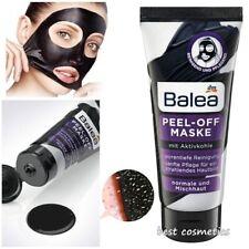 Balea Face Mask Peel Off Deep Cleansing Charcoal Aloe Vera Panthenol Vitamin E
