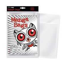 ULTRA PRO Manga Bags 100ct Packs Comic Book Protectors Sleeves - 15.24 x 19.37cm