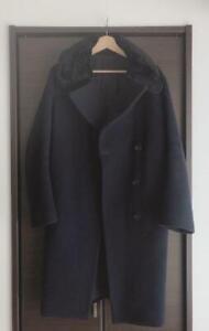 Acne Studios Long Coat Navy 34 Far Women Outerwear good condition winter #M8440