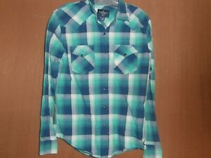 American Eagle Outfitters  men's plaid shirt size small slim fit