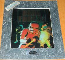Star Wars Dark Forces StormTroopers ChromArt Ltd Matted Print 1995 CREASE SEALED
