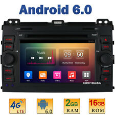 HD 2GB RAM 4G Android 6 Car DVD Player Radio For Toyota Land Cruiser Prado 120