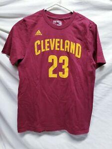 Kids Adidas Lebron James Cleveland  Cavaliers Shirt Size Large 14/16