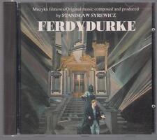 FERDYDURKE - STANISLAW SYREWICZ MICHAL LORENC KRZESIMIR DEBSKI 1991 CD TOP RARE