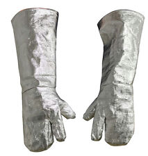 Long Safety Work Heat Resistant Gloves Aluminized Fire Smelting Welding Glove