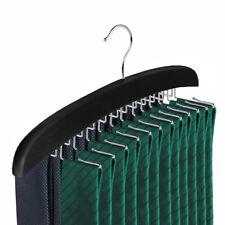 Wooden Belt Hanger 24 Tie Belt Scarf Holder Closet Organizer Rack Hanger Hook US