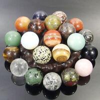 16MM Energy Stones Ball Sphere Natural Gemstone Quartz Rock Crystal Healing Gift