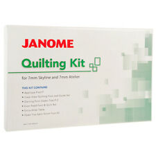 Janome Quilting Kit for 7mm Sewing Machines Extension Table Stippling Patchwork