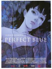 Affiche Pliée 120x160cm PERFECT BLUE (1999) Satoshi Kon - Animation R2018 NEUVE