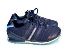 New listing Yohji Yamamoto Y-3 Adidas Blue Leather Nylon Casual Tennis Shoe EU 37 = US 6.5