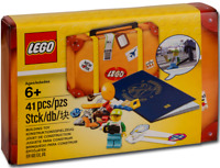 LEGO Exclusive #5004932 - Travel Building Suitcase - Collector 2017 - 100% NEW