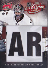 11-12 Panini Prime Cam Ward 1/4  All-Star Locker Room Nameplate Selections 2011