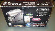 Hitachi DZ-HS500A DVD Hybrid Camcorde, in original box with manual!!