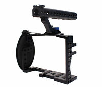 DSLR Camera Cage With Top Handle Grip For Panasonic Lumix GH3 GH4 Camera Rig