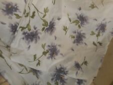 Pottery Barn Twin Duvet Cover 100 % Cotton / Floral Print