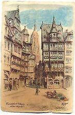 D 100 - Frankfurt Alter Markt, Künstler Fischer, ugl