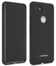 PureGear Jet Black Slim Shell Case Hard Cover for Google Pixel 2 XL