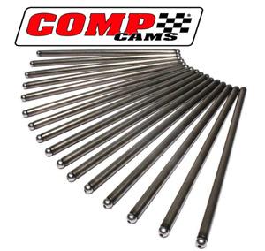 """Comp Cams 7808-16 7.205"""" Length 5/16"""" Dia Pushrods Set - Chevrolet 350 305 5.7L"""