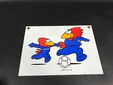PLAQUE EMAILLEE WORLD CUP 98 FOOTIX COUPE DU MONDE 1998 FOOT SOCCER