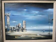 Robert Watson - Signed - Original Framed Oil Painting - Early 1955