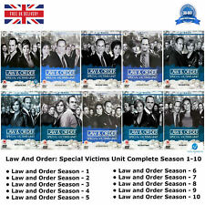 Law And Order Complete DVD Collection 1 2 3 4 5 6 7 8 9 10 with all the episodes