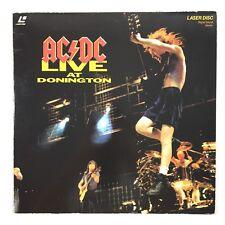 LaserDisc AC DC Live At Donington ACDC
