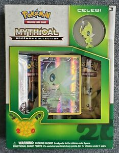 NEW Pokemon Generations Mythical Collection - Celebi Box - 20th Anniversary