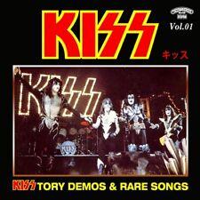 KISSTORY @DEMOS CD-1 RARE KISS !!! (Peter Criss/Paul Stanley/Gene Simmons)