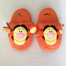DISNEY WINNIE THE POOH TIGGER Plush Slippers Shoes Size UK 3-7, EU 34-40, US 5-9