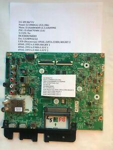 Main: EAX66804605 (1.1) 63655902 for LG 49UH671V