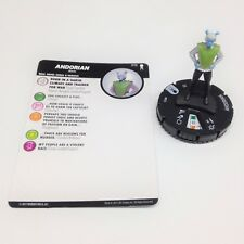 Heroclix Star Trek Away Team set Andorian #013 Common figure w/card!