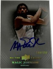 Magic Johnson Signed Autographed 2012/2013 All Time Greats Card #60 PSA/DNA /150
