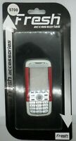 Nokia 5700 Mobile Phone Fascia/Cover/Housing/Keypad WHITE/RED Colour