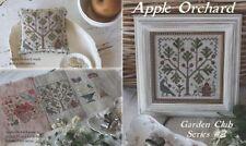 Apple Orchard Cross Stitch Sampler Blackbird Designs Garden Club #2