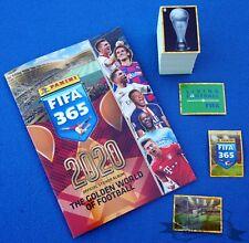 PANINI FIFA 365 2020, complete loose sticker set (+ S1 - S48) + empty album
