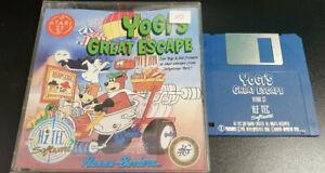 Atari ST Game Yogi's Great Escape Boxed