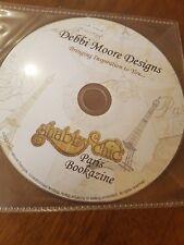 Debbi Moore Designs Shabby Chic Paris Bookazine PC CD ROM PaperCraft Card Making