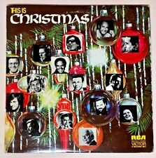 This Is Christmas 2LPs Vinyl VPS-6046 Chet Atkins Kate Smith Mario Lanza Ed Ames