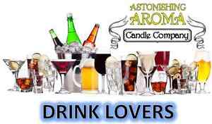 DRINK LOVERS COLLECTION Soy Wax Clamshell Break Away tart melt  candle