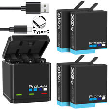 Аккумуляторная батарея и зарядное устройство для GoPro HERO 8 черный HERO 7 HERO 6 HERO 5 черный