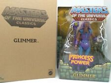 MOTUC Masters of the Universe Classics Glimmer Loose with box complete