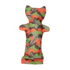 MAJOR DOG BOTTLE CAT TOY FOR DOGS CAMO GREEN/ORANGE